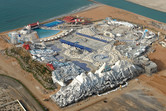 Ice Land Ras Al Khaimah aerial view