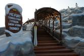 Staircase to the slide mountain
