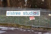 Elstree Studios fence
