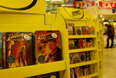 You can buy Indiana Jones and the Temple of Doom inside Tesco!!
