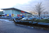 Tesco seen from the remaining part of Elstree Studios