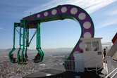 'Insanity' ride on top of Stratosphere Tower