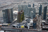 Las Vegas CityCenter under construction