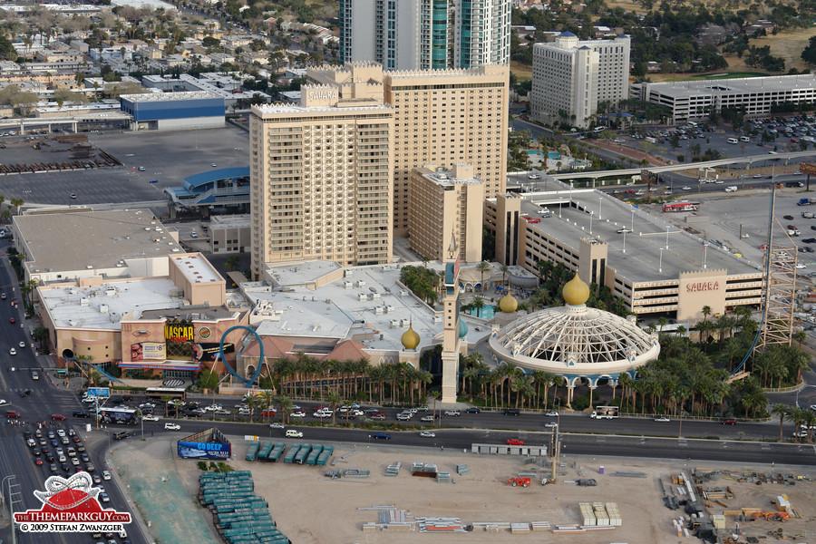 Sahara casino roller coaster frontier hotel and casino las vegas