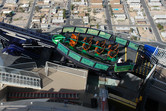 'X Scream' ride on top of Stratosphere