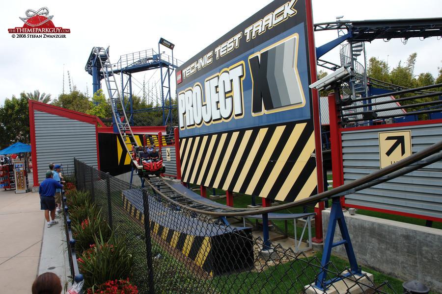 Legoland's signature coaster