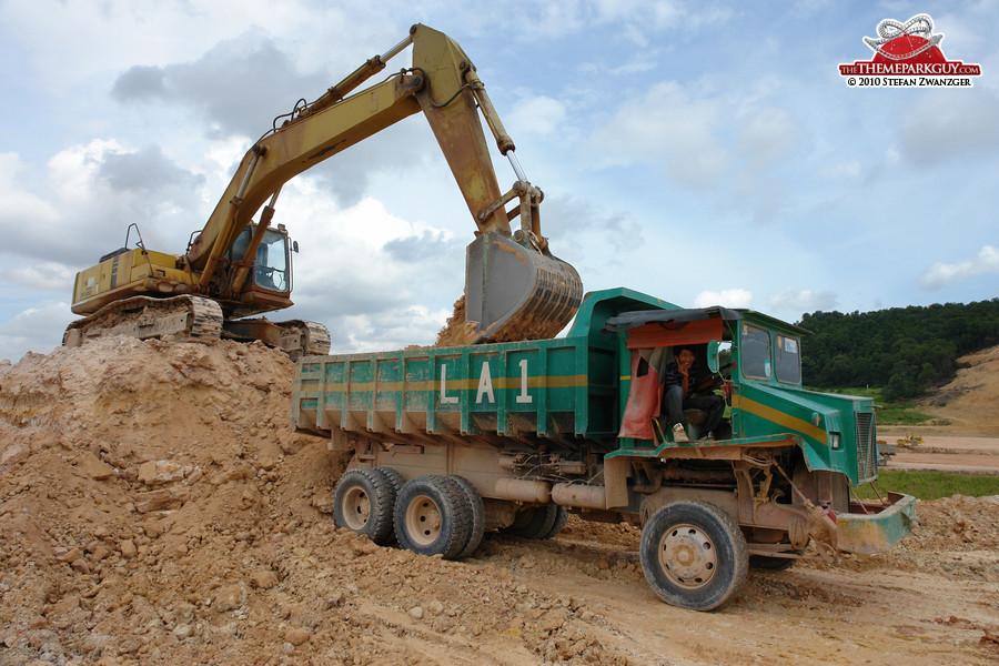 Legoland Malaysia excavations
