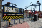 Project X coaster at Legoland Malaysia
