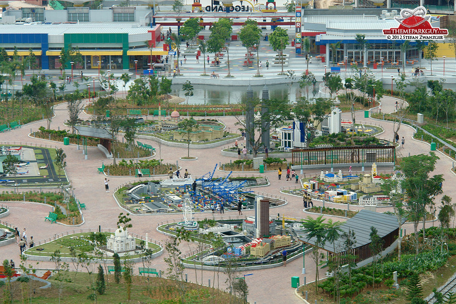 Legoland's not-so-miniature models
