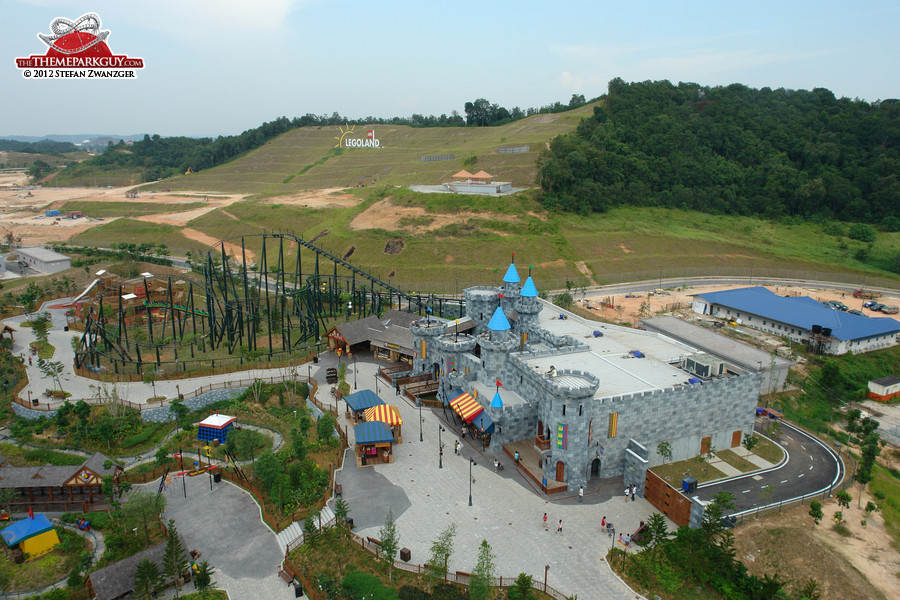 Legoland Malaysia as seen from the observation tower