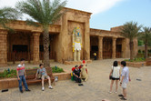 This building houses an Egyptian-themed laser gun dark ride