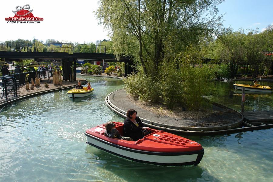 Lego Boat Ride Confusion