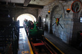 Chivalry-themed dragon roller coaster
