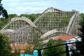 This wooden coaster is absolutely brilliant!