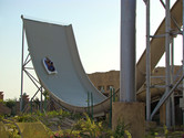 U-shaped slide in action