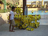 Life vest collection