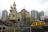 Lotte World outdoor coaster and monorail