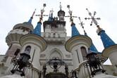 Lotte World's castle looks very Disney-inspired