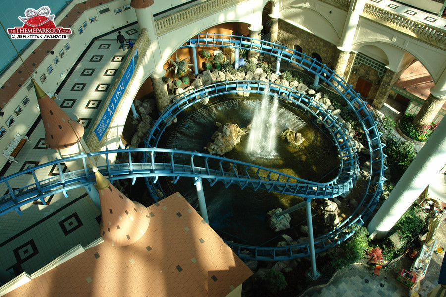 Lotte World coaster