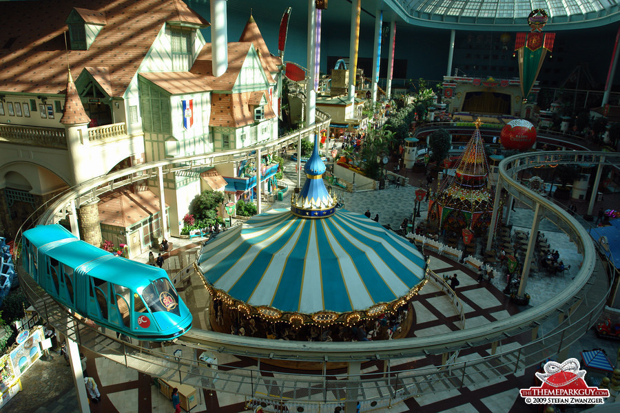 Lotte World indoor theme park