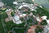 Disney's Magic Kingdom aerial 2