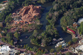 Big Thunder Mountain helicopter view