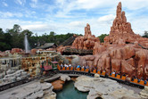 Big Thunder Mountain roller coaster