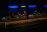 Space Mountain coaster cars