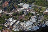 Magic Kingdom aerial