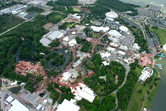 Disney's Magic Kingdom aerial