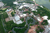 Disney's Magic Kingdom aerial 2