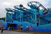 Wild Mouse-type roller coaster