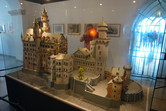 A model of the castle in the castle