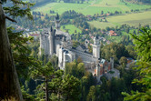 Neuschwanstein Castle from above