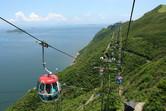 Famous Ocean Park cable car