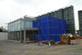 Paramount Movie Park Korea office in the making