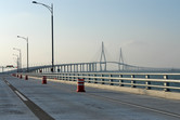 Via the new Incheon bridge...