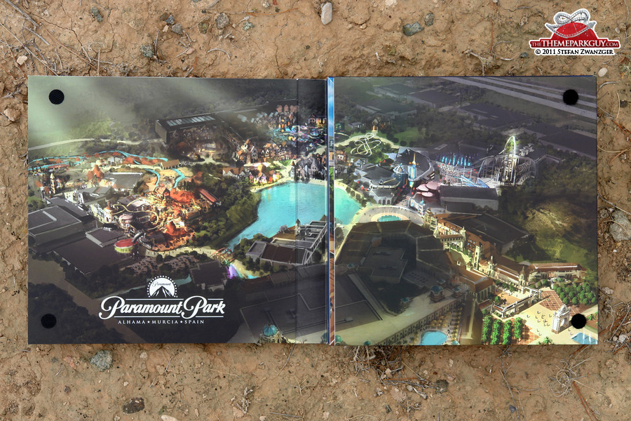 Paramount Park Spain brochure