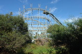 Overgrown coaster