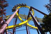 Inverted coaster loop