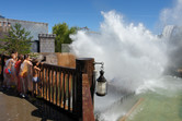 Super splash approaching