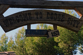 Entrance to Dodge City