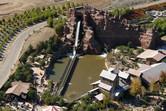 Rio Bravo flume ride aerial view