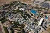 Warner Brothers theme park Madrid aerial view