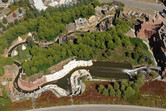 Warner's Rio Bravo flume ride from above