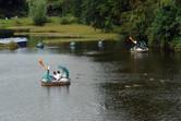 The classic Phantasialand lake