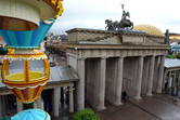 Brandenburg Gate closer view
