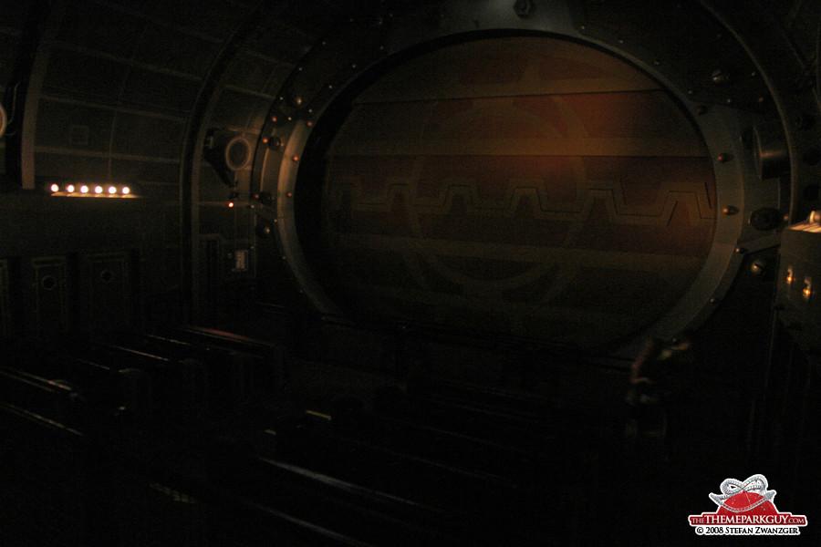 Sea Odyssey movie simulator ride