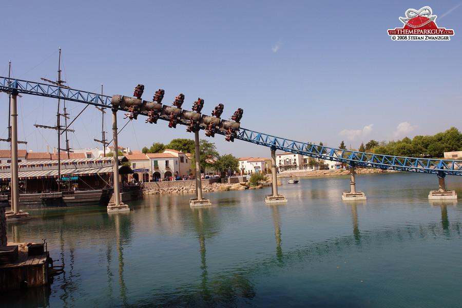 PortAventura coaster Furius Baco