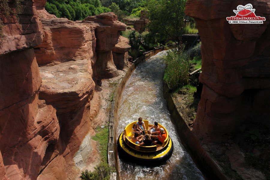 Rafting through the Wild West